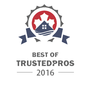 Best of Trusted Pros 2016 Award